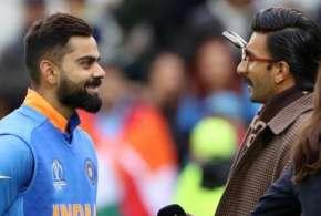 Ranveer Singh hugs Virat Kohli - India TV