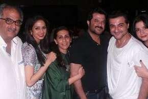 Sridevi with Kapoor family- India TV