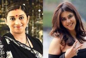 Smriti Irani and Ekta kapoor- India TV