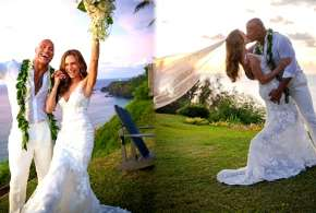 dwayne johnson wedding pics- India TV