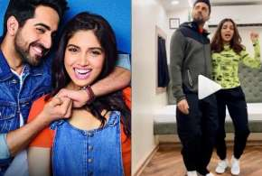 ayushmann khurrana and bhumi pednekar dance video- India TV