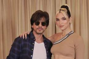 shah rukh khan meets dua lipa- India TV