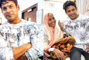 sidharth shukla with mother- India TV
