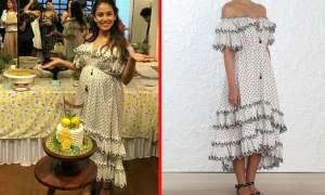 मीरा राजपूत अपनी Baby Shower पार्टी पर दिखीं फ्लोरल ड्रेस में , इसकी कीमत कुछ हजार रुपए