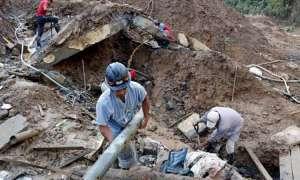 फिलीपीन में भारी बारिश के कारण भूस्खलन, 3 की मौत, 10 मकान जमीन में धंसे