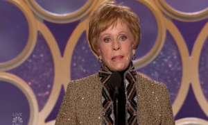 गोल्डन ग्लोब्स : नेमसेक लाइफटाइम अचीवमेंट अवॉर्ड पाकर भावुक हुईं कैरल बर्नेट