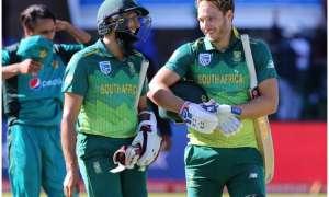 अमला का शतक, धीमी पिच पर पाकिस्तान को दक्षिण अफ्रीका ने दिया 267 रन का लक्ष्य
