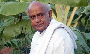 देवगौड़ा ने गठबंधन सरकार गिरने पर कांग्रेस पर फिर साधा निशाना
