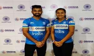ओलम्पिक क्वालीफायर के लिए भारतीय पुरुष एवं महिला हॉकी टीमों का ऐलान