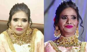 रानू मंडल की मेकअप वाली फोटो की सच्चाई आई सामने, ये है असली फोटो!