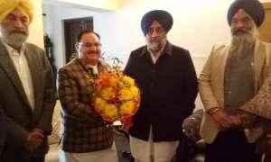 दिल्ली चुनाव: अकाली दल ने दिया BJP को समर्थन, नड्डा बोले- हमारा गठबंधन पुराना और मजबूत