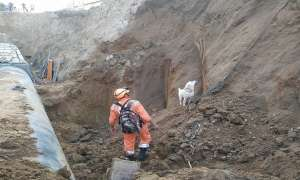 गाजियाबाद: पानी की लाइन बिछाने के लिए मिट्टी खोदने के दौरान हादसा, 1 मजदूर की मौत