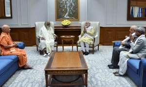 राम मंदिर ट्रस्ट के सदस्यों ने PM मोदी से मुलाकात की, भूमिपूजन के लिए दिया न्योता