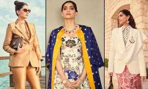 सोनम कपूर लेटेस्ट लुक में नजर आईं स्टनिंग, हर तस्वीर में दिखा फैशन का नया ट्रेंड