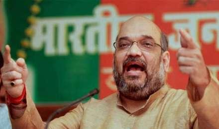 4 साल का हिसाब मांगने वाले राहुल बताएं कांग्रेस ने 50 सालों में क्या किया: अमित शाह