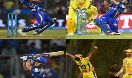 IPL 2018: तस्वीरों में देखें चेन्नई सुपर किंग्स और मुंबई इंडियंस के बीच रोमांचक मैच की झलकियां