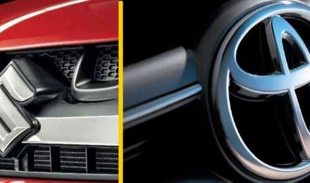 भारत की ऑटोमोबाइल इंडस्ट्री में बड़ी डील, सुजुकी की कारें अपने प्लांट में बनाकर बेचेगी टोयोटा