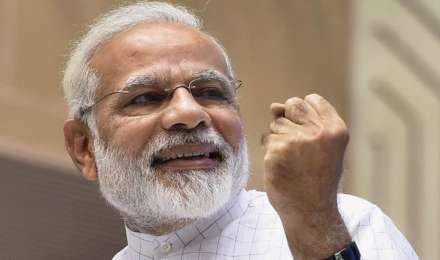 विश्व व्यापार में भारत की हिस्सेदारी डबल कर 3.4% करना चाहते हैं मोदी, GDP वृद्धि दहाई अंक में लाने का लक्ष्य