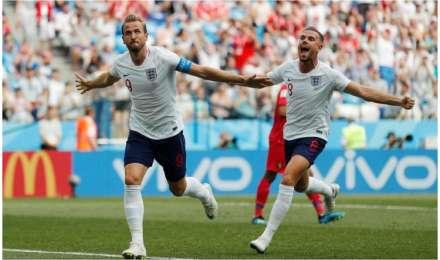 फीफा विश्व कप 2018: कप्तान केन की हैट्रिक ने इंग्लैंड को दिलाई अंतिम-16 में जगह,पनामा को 6-1 से धोया