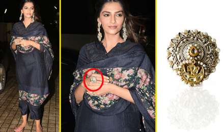 जाह्नवी की फिल्म 'धड़क' की स्पेशल स्क्रीनिंग पर स्टाइलिश अंदाज में पहुंची सोनम कपूर, पहनी इतने हजार की अंगूठी