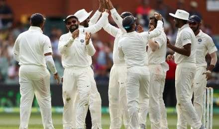 भारत बनाम ऑस्ट्रेलिया 1st Test Match, Day 5 लाइव क्रिकेट स्कोर: जीत से 5 विकेट दूर भारतीय टीम, हेड आउट