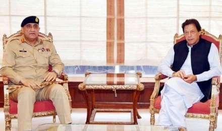 पाकिस्तान: इमरान खान ने कहा, हमारी सरकार को है सेना का पूरा समर्थन