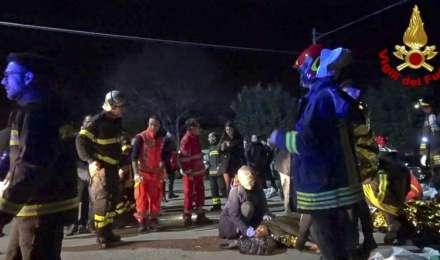 इटली के नाइटक्लब में भगदड़ मचने से 6 लोगों की मौत, दर्जनों घायल