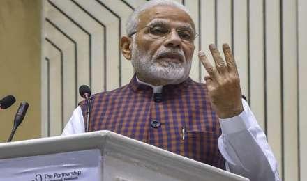 तीन राज्यों में हुई हार के बाद पहली बार प्रधानमंत्री मोदी आज पार्टी सांसदों को करेंगे संबोधित