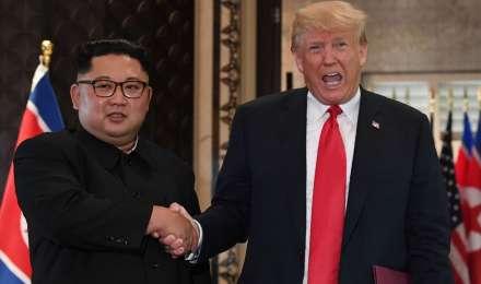 फरवरी अंत में होगी ट्रम्प और किम की दूसरी मुलाकात: व्हाइट हाउस