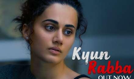 अमिताभ बच्चन और तापसी पन्नू की फ़िल्म 'बदला' का पहला गाना 'रब्बा' हुआ रिलीज!