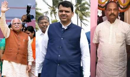 महाराष्ट्र, हरियाणा, झारखंड में भाजपा के अपने मौजूदा मुख्यमंत्रियों के नेतृत्व में चुनाव लड़ने की संभावना