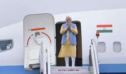भूटान का 2 दिवसीय दौरा समाप्त कर वापस लौटे पीएम नरेंद्र मोदी