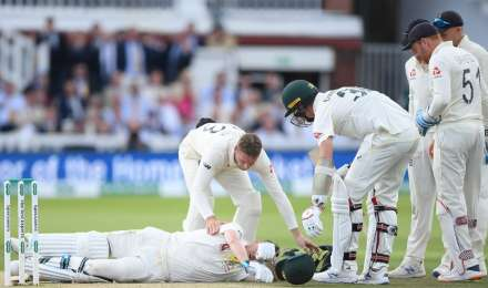मैदान पर चोटिल पढ़े थे स्मिथ और हूटिंग कर रहे थे इंग्लैंड के फैंस, किक्रेट ऑस्ट्रेलिया ने की आलोचना
