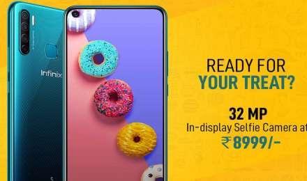 8,999 रुपए में लॉन्च हुआ 4+64GB, 4000mAH बैटरी, होल-पंच डिस्प्ले और 4 रियर कैमरा वाला दमदार फोन Infinix S5