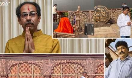 जोधा अकबर और पानीपत के सेट बनाने वाले नितिन देसाई ने सजाया है उद्धव ठाकरे के शपथ ग्रहण का स्टेज