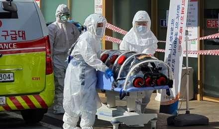 दक्षिण कोरिया में अमेरिकी सैनिक कोरोना वायरस की चपेट में आया
