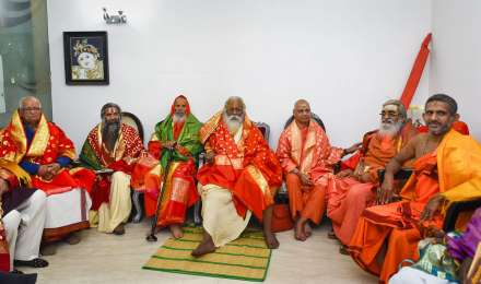 महंत नृत्य गोपालदास को राम मंदिर ट्रस्ट का अध्यक्ष बनाया गया, चंपत राय होंगे महामंत्री