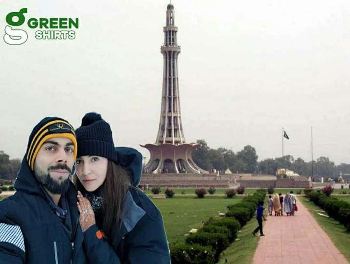 Image result for लाहौर और कराची में हनीमून मना रहे हैं विराट-अनुष्का