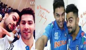 भारतीय क्रिकेटर्स...
