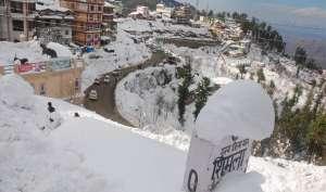 Shimla, Snow fall - India TV