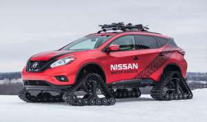Nissan Winter Warrior Concepts - India TV
