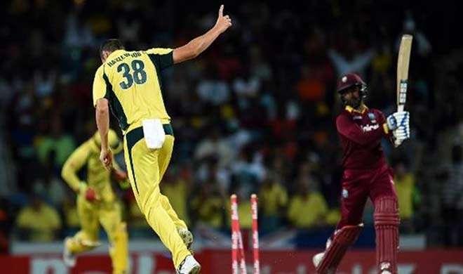 हेज़लवुड की शानदार गेंदबाज़ी, ऑस्ट्रेलिया ने जीता ट्राई सीरीज ख़िताब