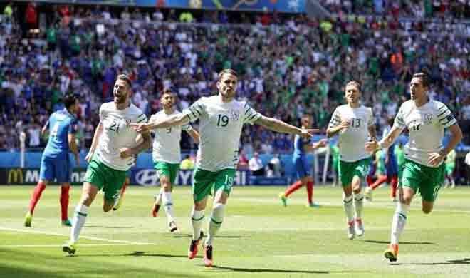 यूरो 2016: आयरलैंड को हराकर फ्रांस पहुंचा क्वार्टर फाइनल में