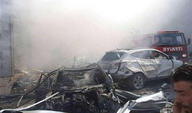 सीरिया-तुर्की सीमा पर कार बम विस्फ़ोट में 17 की मौत
