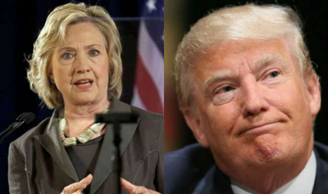 हिलेरी क्लिंटन चुनावी दौड़ में डोनाल्ड ट्रंप से सात अंक आगे: सर्वेक्षण - India TV