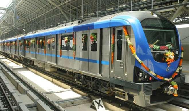 लखनऊ में 20 नवंबर को आएगी मेट्रो की पहली ट्रेन