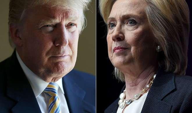 हिलेरी क्लिंटन को मिली ट्रंप पर 6 अंकों की बढ़त