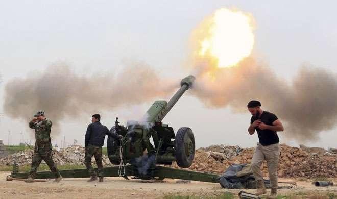 अमेरिकी सेना ने मोसुल को IS से छुड़ाने के लिए तैनात किए अपने सैनिक - India TV