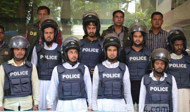 डकैती के मामले में जेएमबी के 7 कार्यकर्ता गिरफ्तार - India TV