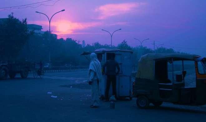 UP में तापमान गिरा, बिहार में ठंड की दस्तक - India TV